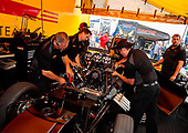 funny car, Camry, J.R. Todd, DHL, pits, crew