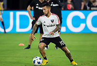 Washington, DC. - Sunday, August 19, 2018: D.C United defeated the New England Revolution 2-0 in a MLS match at Audi Field.