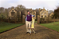 Bmth News (01202 558833)<br /> Pic: PhilYeomans/BNPS<br /> <br /> Furniture designer John Makepeace lived in the house before the Austrian tycoon.<br /> <br /> A £15m stately home has gone back on the market for a cut-price £2.5m after it was burnt to the ground in a suspected arson attack.Grade I listed Parnham House, near Beaminster, Dorset, is now just a charred shell of the magnificent mansion it once was following the blaze in April 2017.Its owner, hedge fund manager Michael Treichl, was arrested on suspicion of arson only to later drown in an apparent suicide. A sale for £3m was agreed for the Elizabethan manor fell through earlier this year and it has now been listed for sale again.Despite initial vows by the family that they would rebuild the 500-year-old home, receivers have been brought in by the mortgage lenders to sell what remains of the property.