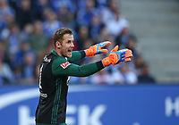 07.04.2018, Football 1. Bundesliga 2017/2018, 29.  match day, Hamburger SV - FC Schalke 04, Volksparkstadium Hamburg. goalkeeper Ralf Faehrmann (Schalke)  *** Local Caption *** © pixathlon<br /> <br /> Contact: +49-40-22 63 02 60 , info@pixathlon.de