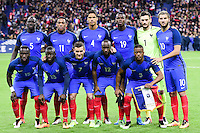 Formazione FRANCIA <br /> France vs Russia - Friendly game - 29/03/2016<br /> Foto Insidefoto