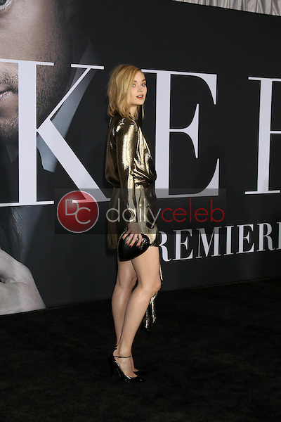 """Bella Heathcote<br /> at the """"Fifty Shades Darker"""" World Premiere, The Theater at Ace Hotel, Los Angeles, CA 02-02-17<br /> David Edwards/DailyCeleb.com 818-249-4998"""