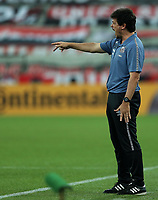 25th August 2021;  Arena da Baixada, Curitiba, Paraná, Brazil;  Brazil Copa  football, Athletico Paranaense versus Santos; Coach Fernando Diniz of Santos, during the match