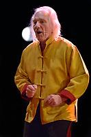 Le chanteur belge Julos Beaucarne - 2013<br /> <br /> Photo : Dalle - AQP