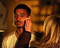 Pictured: Kyle Naughton 01 April 2015<br />