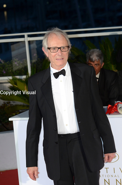 Ken Loach attends the Palm D'Or Winner Photocall during the 69th annual Cannes Film Festival on May 22, 2016 in Cannes, France.