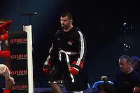 Adnan Redzovic (Sarajevo) kommt in den Ring