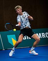 Alphen aan den Rijn, The Netherlands, 25 Januari 2019, ABNAMRO World Tennis Tournament, Supermatch, Len Schouten (NED)<br /> <br /> Photo: www.tennisimages.com/Henk Koster