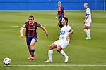 Liga IBERDROLA. Game 16.<br /> FC Barcelona vs UDG Tenerife Egatesa: 6-1.<br /> Mariona Caldentey vs Sara.