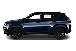Car Driver side profile view of a 2021 JEEP Compass S 5 Door SUV Side View