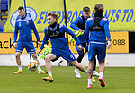 St Johnstone Training...21.05.21<br />Liam Craig  pictured during training at McDiarmid Park this morning ahead of tomorrow's Scottish Cup Final against Hibs.<br />Picture by Graeme Hart.<br />Copyright Perthshire Picture Agency<br />Tel: 01738 623350  Mobile: 07990 594431
