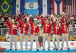 Toronto 2015 - Goalball.<br /> Canada's men's Goalball team plays in the bronze medal game // L'équipe masculin de goalball du Canada participe au match pour la médaille de bronze. 15/08/2015.