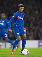 Chelsea's Callum Hudson-Odoi during the UEFA Europa League match between Chelsea and Malmo at Stamford Bridge, London, England on 21 February 2019. Photo by Andrew Aleksiejczuk / PRiME Media Images.