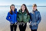 Enjoying a stroll in Ballyheigue on Sunday, l to r: Maeve Egan, Ava and Helen Dunphy.
