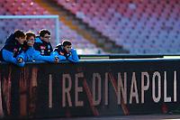 Raccattapalle del Napoli<br /> Napoli 06-01-2018  Stadio San Paolo <br /> Football Campionato Serie A 2017/2018 <br /> Napoli - Hellas Verona<br /> Foto Cesare Purini / Insidefoto