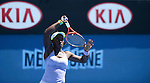 Sloane Stevens (USA) wins at Australian Open in Melbourne Australia on 15thJanuary 2013