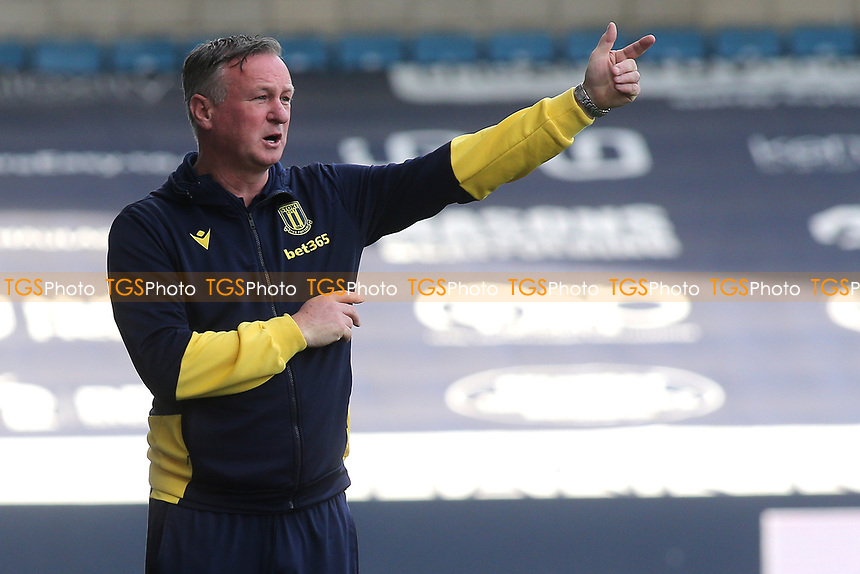 Stoke City Manager, Michael O'Neill during Millwall vs Stoke City, Sky Bet EFL Championship Football at The Den on 12th September 2020