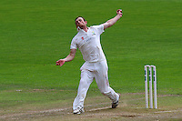 Graham Wagg in bowling action for Glamorgan during Glamorgan CCC vs Essex CCC, Specsavers County Championship Division 2 Cricket at the SSE SWALEC Stadium on 23rd May 2016