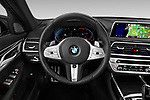 Car pictures of steering wheel view of a 2020 BMW 7-Series M-Sport 4 Door Sedan Steering Wheel