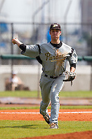 Purdue Boilermakers third baseman Cameron Perkins #22 during a game against the Notre Dame Fighting Irish at the Big Ten/Big East Challenge at Al Lang Stadium on February 19, 2012 in St. Petersburg, Florida.  (Mike Janes/Four Seam Images)