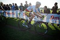 British National Champion Ian Field (GBR/Hargroves Cycles)<br /> <br /> Koppenbergcross 2014