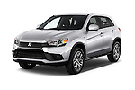 2017 Mitsubishi Outlander-Sport ES-AWC 5 Door SUV Angular Front stock photos of front three quarter view