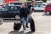 Spainsh Juan Mata arriving at the concentration of the spanish national football team in the city of football of Las Rozas in Madrid, Spain. November 08, 2016. (ALTERPHOTOS/Rodrigo Jimenez) ///NORTEPHOTO.COM