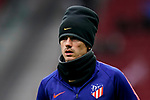 Antoine Griezmann of Atletico de Madrid warms up prior to the La Liga 2018-19 match between Atletico de Madrid and RCD Espanyol at Wanda Metropolitano on December 22 2018 in Madrid, Spain. Photo by Diego Souto / Power Sport Images