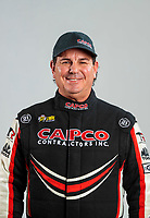 Feb 20, 2020; Chandler, Arizona, USA; NHRA top fuel driver Billy Torrence poses for a portrait during the Arizona Nationals at Wild Horse Pass Motorsports Park. Mandatory Credit: Mark J. Rebilas-USA TODAY Sports