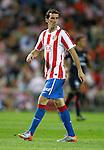 Atletico de Madrid's Diego Godin during La Liga match. August 30, 2010. (ALTERPHOTOS/Alvaro Hernandez)