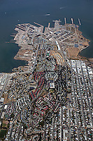 Aerial photograph Hunter's Point San Francisco California