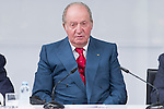 Spainsh King Juan Carlos during the opening of the academic year 2016/2017 university reserach insititute foundation Jose Ortega y Garret and Gregorio Maranon in Madrid, Spain. October 19, 2016. (ALTERPHOTOS/Rodrigo Jimenez)