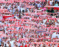 Polish fans. Poland defeated Costa Rica 2-1 in their FIFA World Cup Group A match at FIFA World Cup Stadium, Hanover, Germany, June 20, 2006.