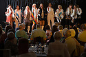 12/06/15<br /> <br /> Abbarettes - (L to R) Nuala Welsh, Sam Harrison, Lesley Hawkes, Lyndsey Miles, Linda Perry Smith, Helen Craven, Rona Myatt, Sally Archer, Becky Kimber.<br /> CClifton Village Cabaret Night - fundraising event for Clifton School and Church held in Clifton Village Hall on Friday 12th June.<br /> <br /> The event raised £1,140.<br /> <br /> All Rights Reserved: F Stop Press Ltd. +44(0)1335 418365 www.fstoppress.com.