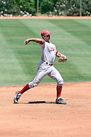 Kenny Diekroger #3 of the Stanford Cardinal plays against the Arizona State Sun Devils on May 1, 2011 at Packard Stadium, Arizona State University, in Tempe, Arizona..Photo by:  Bill Mitchell/Four Seam Images.