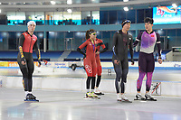 SPEEDSKATING: HEERENVEEN, ICE STADIUM THIALF, 26-06-2018, Training Longtrack speedskating Team China, ©photo Martin de Jong