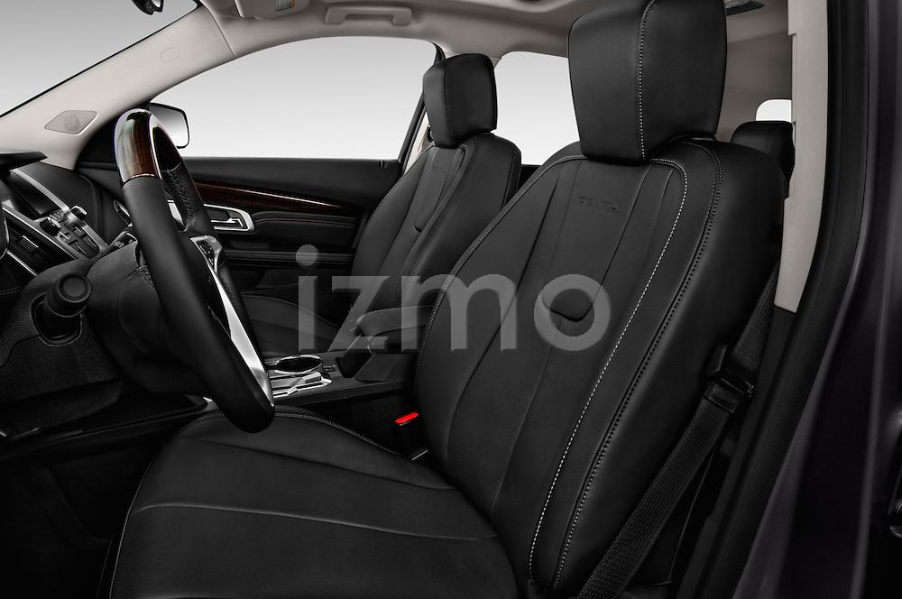 Front seat view of 2016 GMC Terrain Denali 5 Door SUV Front Seat car photos