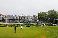 3rd July 2021; Mount Juliet Golf Club, Kilkenny, Ireland; Dubai Duty Free Irish Open Golf, Day Three; A general view of the  club house and driving range