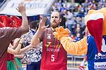 San Pablo Burgos Thomas Schreiner during Liga Endesa match between San Pablo Burgos and Gipuzkoa Basket at Coliseum Burgos in Burgos, Spain. December 30, 2017. (ALTERPHOTOS/Borja B.Hojas)