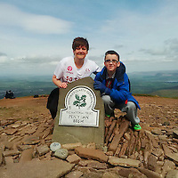 """Pictured: Undated picture of Louise Hopkins (L) with a boy believed to be her son taken from tribute website<br /> Re: Inquest into the death of Louise Hopkins, who died after being hit by a van in Merthyr Tydfil on Bonfire Night in 2015.<br /> Ms Hopkins, 41, suffered fatal injuries after she was hit while walking away from a broken-down vehicle on the A465 between Pant and Dowlais.<br /> Members of her family paid tribute to her, calling her a """"hard working and loving mother""""."""