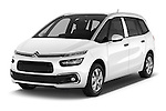 2016 Citroen Grand-C4-Picasso Shine 5 Door Mini MPV Angular Front stock photos of front three quarter view
