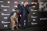 Actor Michael Cudlitz attends The Walking Dead: 6th Season presentation in Madrid, Spain. February 23, 2016. (ALTERPHOTOS/Victor Blanco)