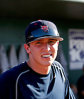Tanner Scheppers / Fresno State Bulldogs..Photo by:  Bill Mitchell/Four Seam Images