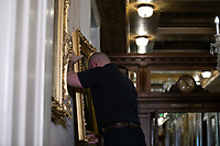 Removal of Paintings from East Staircase of the Speakers lobby in the US Capitol