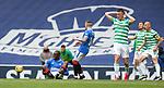 02.05.2021 Rangers v Celtic: Glen Kamara after being tackled by Callum McGregor