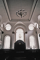Sir Christopher Wren: St. Margaret Pattens, London, 1684-89. A particularly lovely interior. Photo '90.