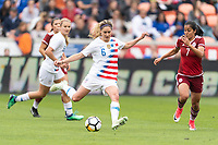 Houston, TX - Sunday April 08, 2018: Morgan Brian during an International Friendly soccer match between the USWNT and Mexico at BBVA Compass Stadium.