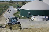 CROATIA, Slavonia, biogas plant, maize substrate for fermentation and power generation / KROATIEN, Slawonien, Biogasanlage der Firma Bioplin Proizvodnja d.o.o. in Medinci bei Slatina, Mais Substrat zur Vergaerung und Stromerzeugung