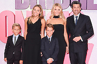 "Patrick Dempsey, wife Jillian and family<br /> at the ""Bridget Jones's Baby"" World premiere, Odeon Leicester Square , London.<br /> <br /> <br /> ©Ash Knotek  D3149  05/09/2016"