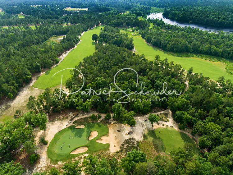 Photography of the Dormie Club golf resort location in West End, North Carolina.  This 310 acre golf resort  with excellent greens and fairways is located near the village of Pinehurst. <br /> <br /> Charlotte Photographer - PatrickSchneiderPhoto.com